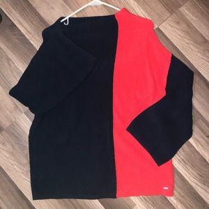 100% Cotton Tommy Hilfiger Color Block Sweater